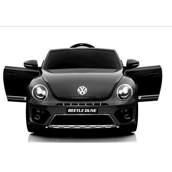 Masinuta electrica VW Beetle Dune Cabrio STANDARD #Negru 2