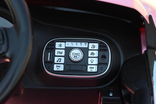 Masinuta electrica VW Beetle Dune Cabrio STANDARD #Roz 5