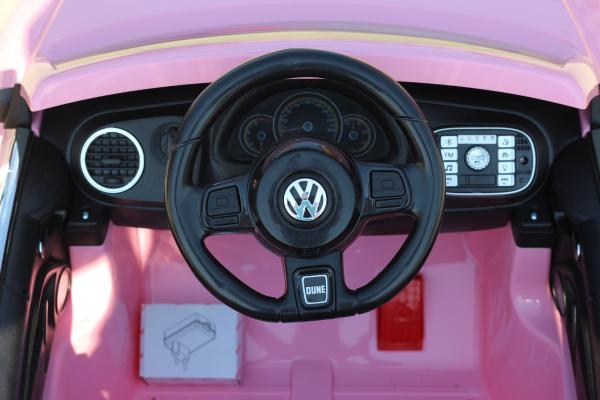 Masinuta electrica VW Beetle Dune Cabrio STANDARD #Roz 4
