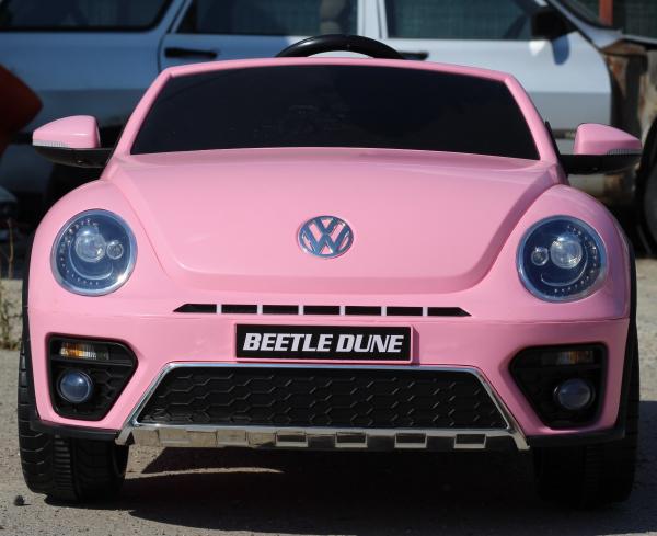 Masinuta electrica VW Beetle Dune Cabrio STANDARD #Roz 1