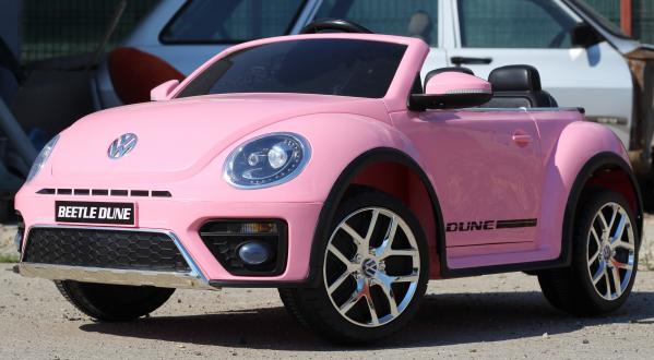 Masinuta electrica VW Beetle Dune Cabrio STANDARD #Roz 3
