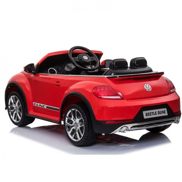 Masinuta electrica VW Beetle Dune Cabrio STANDARD #Rosu 6