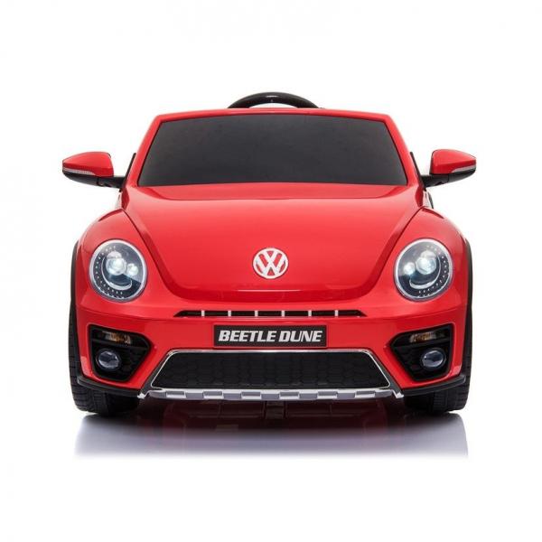 Masinuta electrica VW Beetle Dune Cabrio STANDARD #Rosu 1