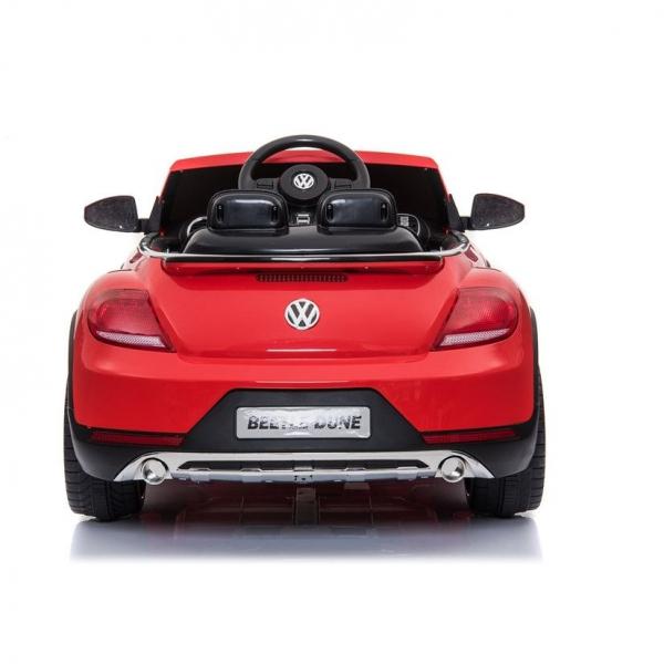 Masinuta electrica VW Beetle Dune Cabrio STANDARD #Rosu 3