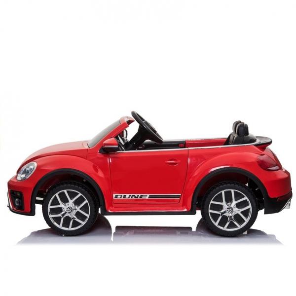 Masinuta electrica VW Beetle Dune Cabrio STANDARD #Rosu 4