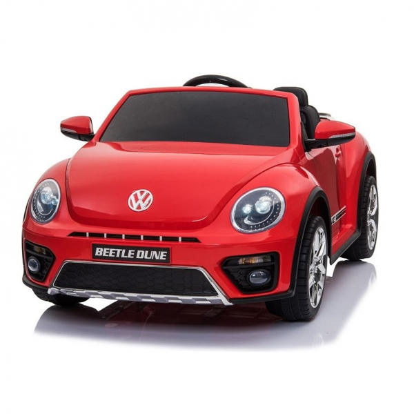 Masinuta electrica VW Beetle Dune Cabrio STANDARD #Rosu 0