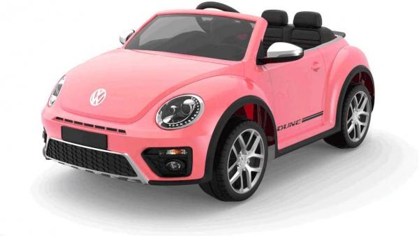 Masinuta electrica VW Beetle Dune Cabrio STANDARD #Roz 0