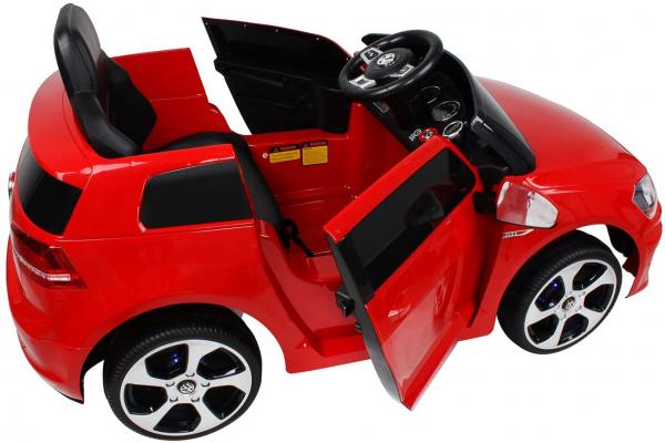 Masinuta electrica VW Golf GTI 2x30W 12V STANDARD #Rosu 1