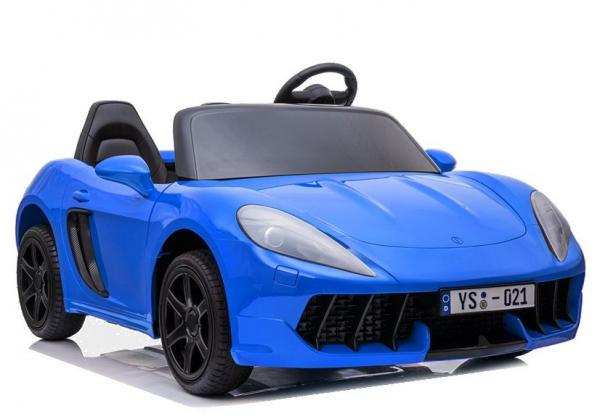 Masinuta electrica YSA021A 180W 24V PREMIUM #Albastru [0]