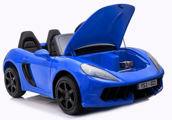Masinuta electrica YSA021A 180W 24V PREMIUM #Albastru [4]