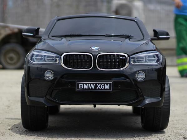 Masinuta electrica BMW X6M 2x35W 12V PREMIUM #Negru 1