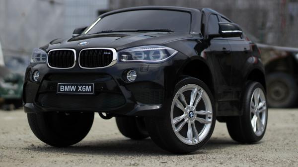 Masinuta electrica BMW X6M 2x35W 12V PREMIUM #Negru 2