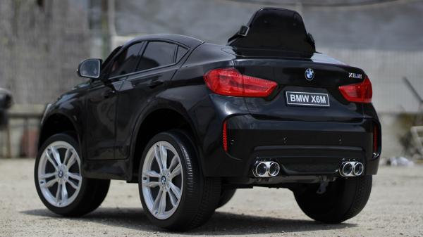 Masinuta electrica BMW X6M 2x35W 12V PREMIUM #Negru 5
