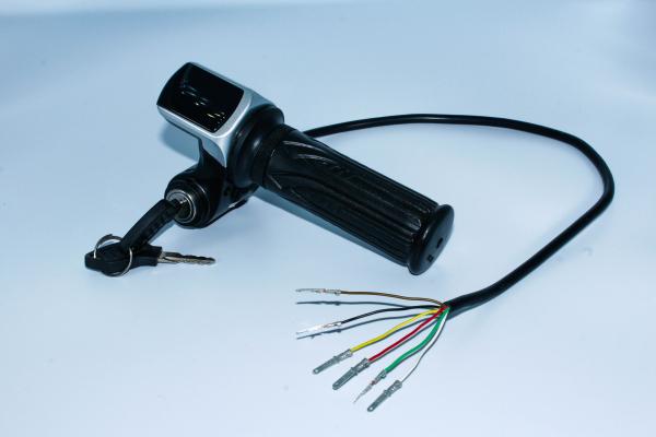Accelerator + contact cu cheie HT386 pentru ATV electric 5