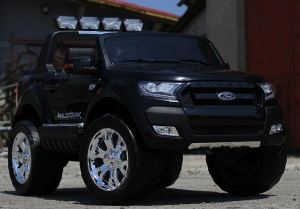 Masinuta electrica Ford Ranger 4x4 cu ROTI MOI 4x45W #Negru 2