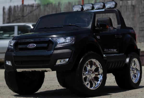 Masinuta electrica Ford Ranger 4x4 cu ROTI MOI 4x45W #Negru 3