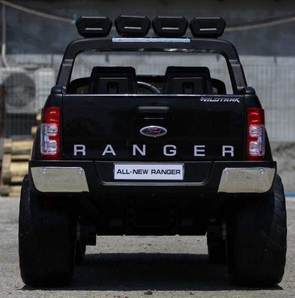 Masinuta electrica Ford Ranger 4x4 cu ROTI MOI 4x45W #Negru 4