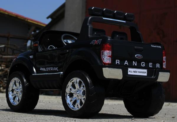 Masinuta electrica Ford Ranger 4x4 cu ROTI MOI 4x45W #Negru 5