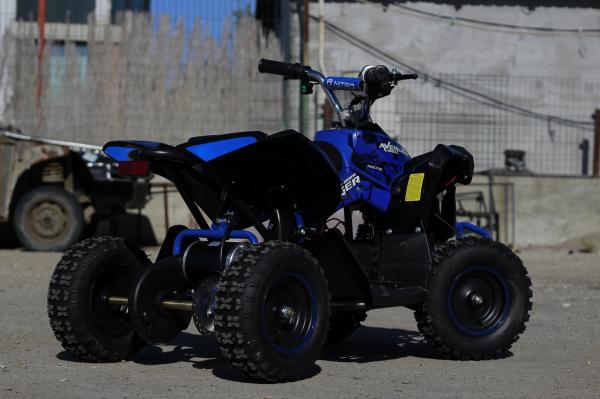ATV Electric Eco Avenger 1000W 48V cu 3 Trepte de Viteza #Albastru [4]