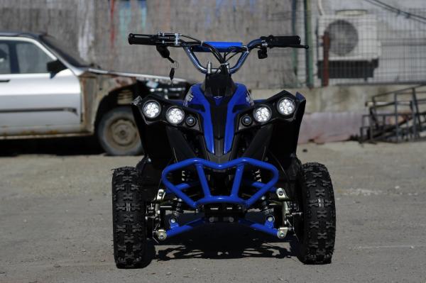 ATV Electric Eco Avenger 1000W 36V cu 3 Trepte de Viteza #Albastru 1