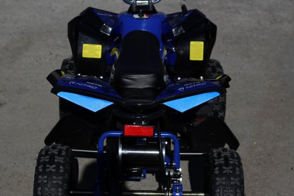 ATV Electric Eco Avenger 1000W 48V cu 3 Trepte de Viteza #Albastru 6