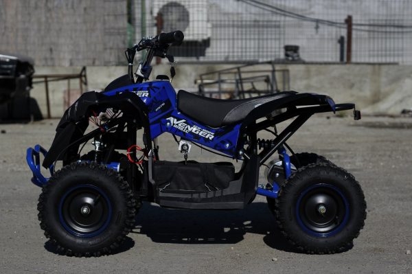 ATV Electric Eco Avenger 1000W 48V cu 3 Trepte de Viteza #Albastru [8]