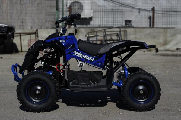 ATV Electric Eco Avenger 1000W 36V cu 3 Trepte de Viteza #Albastru 8