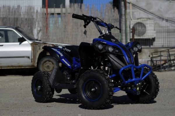 ATV Electric Eco Avenger 1000W 48V cu 3 Trepte de Viteza #Albastru [2]
