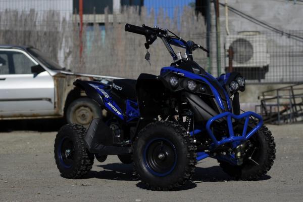 ATV Electric Eco Avenger 1000W 36V cu 3 Trepte de Viteza #Albastru 2