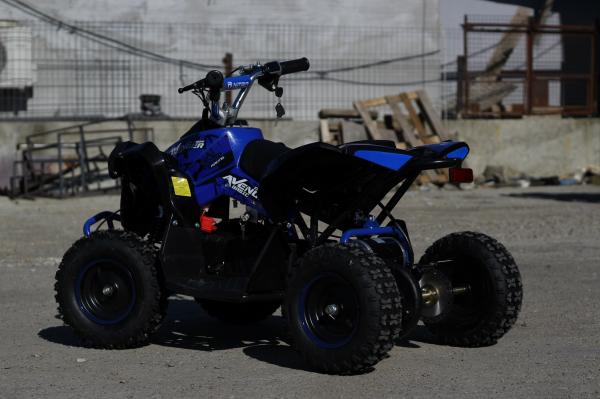 ATV Electric Eco Avenger 1000W 36V cu 3 Trepte de Viteza #Albastru 7