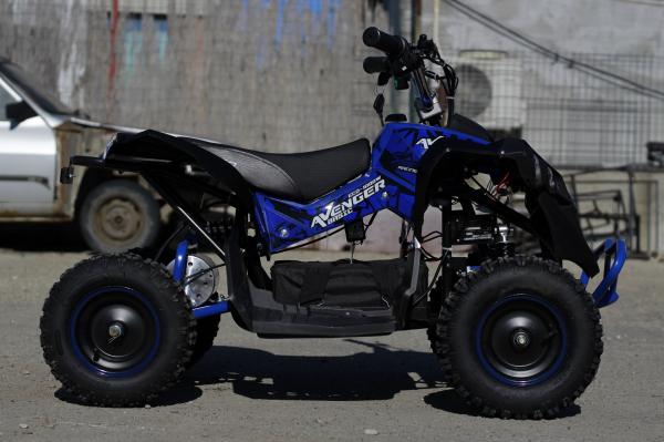 ATV Electric Eco Avenger 1000W 36V cu 3 Trepte de Viteza #Albastru 3
