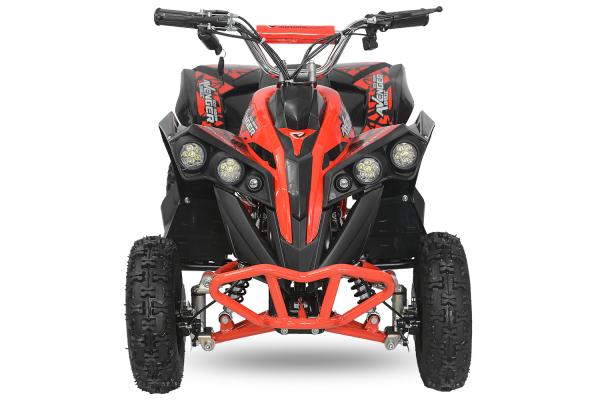 ATV Electric Eco Avenger 1000W 48V cu 3 Trepte de Viteza #Rosu 1