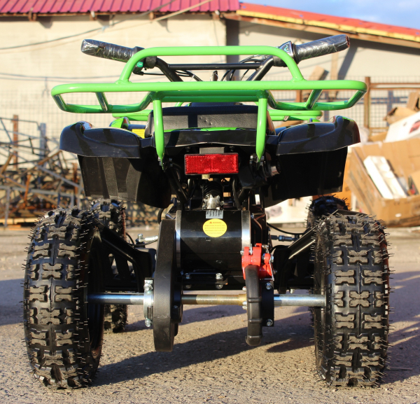 Mini ATV Electric Eco Torino Deluxe 1000W 48V cu 3 Trepte de Viteza #Verde 4