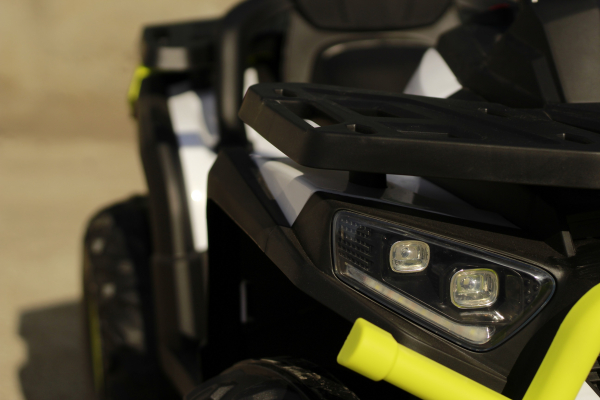 Mini ATV electric DESERT 900 2X45W 12V STANDARD #Alb 3