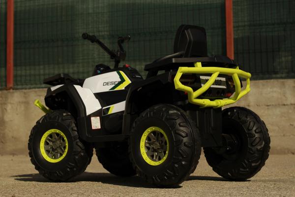 Mini ATV electric DESERT 900 2X45W 12V STANDARD #Alb 8