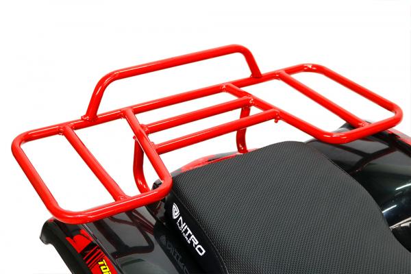 Mini ATV Electric Eco Torino Deluxe 1000W 48V cu 3 Trepte de Viteza #Rosu [1]