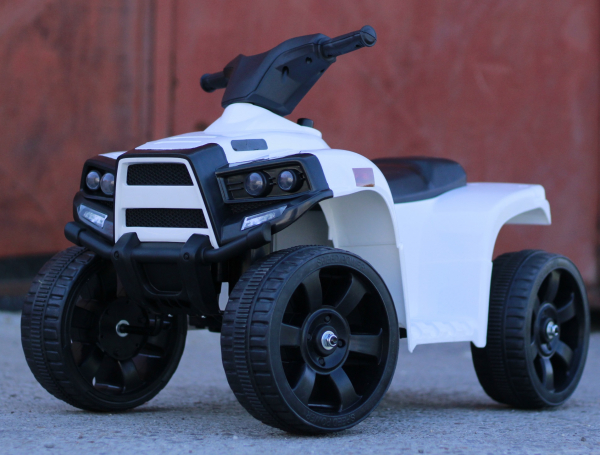 Mini ATV electric PANDA 25W STANDARD #Alb 4