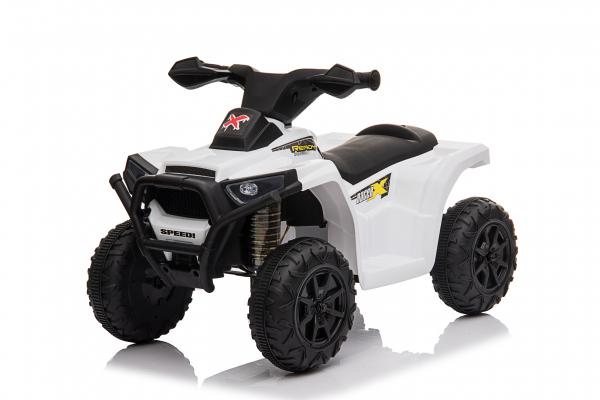 Mini ATV electric pentru copii BJ116 35W STANDARD #Alb 0