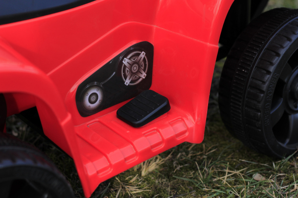 Mini ATV electric PANDA 25W STANDARD #Rosu 6