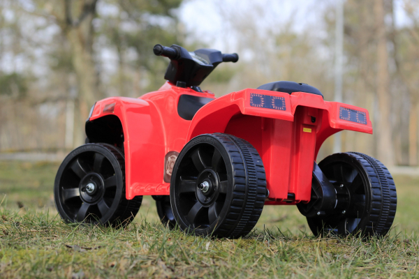 Mini ATV electric PANDA 25W STANDARD #Rosu 3