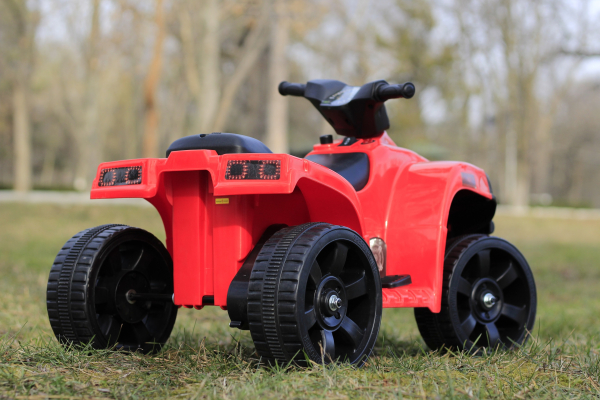 Mini ATV electric PANDA 25W STANDARD #Rosu 4