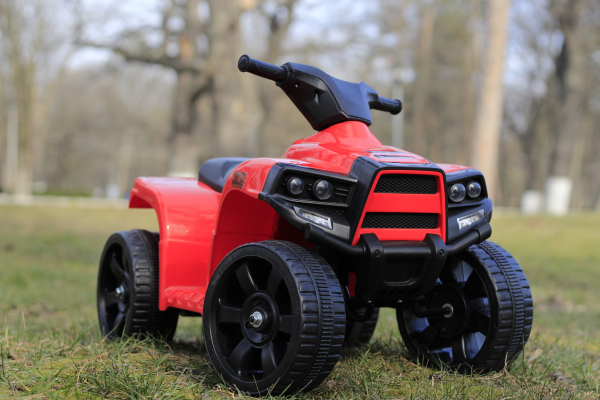 Mini ATV electric PANDA 25W STANDARD #Rosu 1
