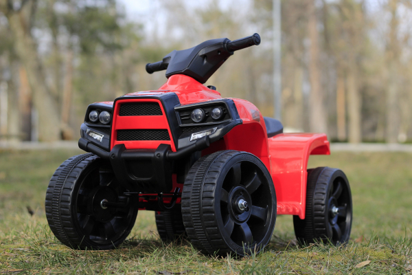 Mini ATV electric PANDA 25W STANDARD #Rosu 2