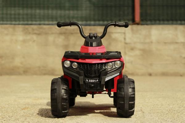 Mini ATV electric Panda BB3201 25W STANDARD #Rosu 1