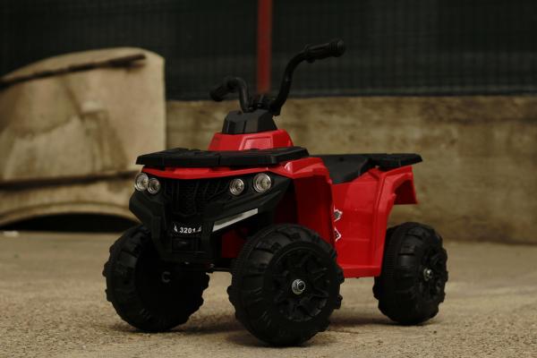 Mini ATV electric Panda BB3201 25W STANDARD #Rosu 2