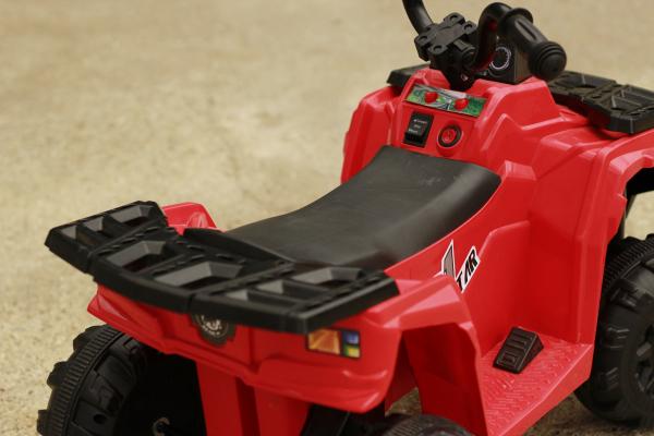 Mini ATV electric Panda BB3201 25W STANDARD #Rosu 6