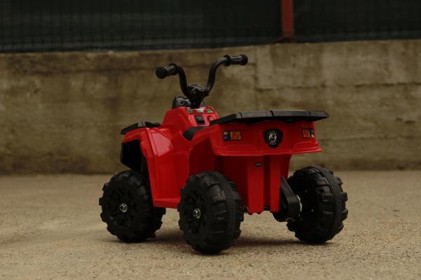 Mini ATV electric Panda BB3201 25W STANDARD #Rosu 10