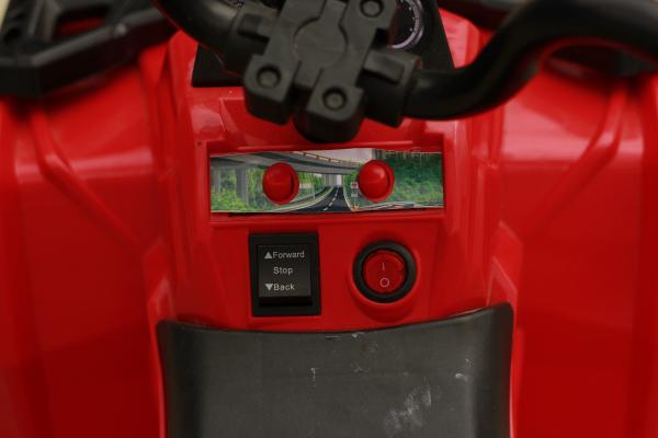 Mini ATV electric Panda BB3201 25W STANDARD #Rosu 7
