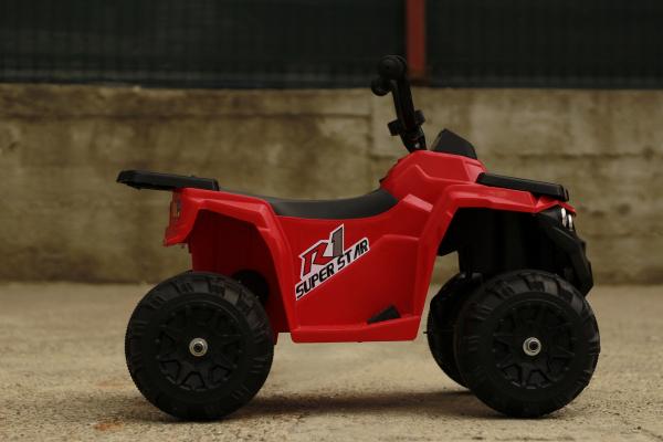 Mini ATV electric Panda BB3201 25W STANDARD #Rosu 4