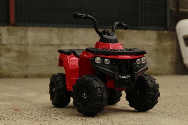 Mini ATV electric Panda BB3201 25W STANDARD #Rosu 3